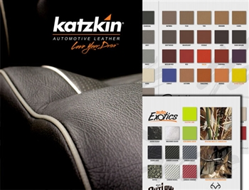 Katzkin Leather Samples Book