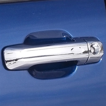 Toyota FJ Cruiser Chrome Door Handle Covers, 2007, 2008, 2009, 2010, 2011, 2012, 2013, 2014