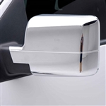 Ford F150 Light Duty XLT | FX4 | Supercrew | Lariat Chrome Mirror Covers, 2pc  2004 - 2008
