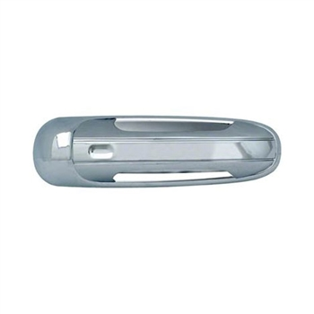 Dodge Durango Chrome Door Handle Covers (w/o pass keyhole), 2005-2009