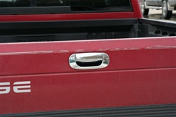 Dodge Ram Chrome Rear Tailgate Handle Cover, 1994 - 2001