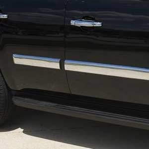 Chevrolet Tahoe Chrome Body Side Molding Covers, 2007, 2008, 2009