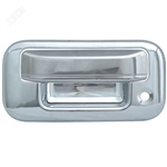 Ford F150 Chrome Tailgate Handle Cover, 2004, 2005, 2006, 2007, 2008, 2009, 2010, 2011, 2012, 2013, 2014