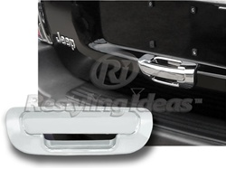 1999 - 2004 Jeep Grand Cherokee Chrome Rear Tailgate Handle Cover