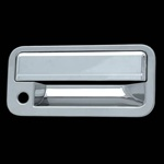 Cadillac Escalade Chrome Rear Door Handle Cover, 1999, 2000, 2001
