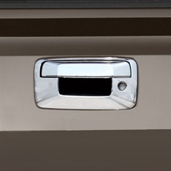 2007-2013 GMC Sierra Chrome Tailgate Handle Cover