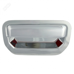 Honda Ridgeline Chrome Tailgate Handle Cover, 2006, 2007, 2008, 2009, 2010, 2011, 2012, 2013, 2014