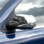 GMC Envoy Chrome Mirror Covers, 2pc  2002 - 2009
