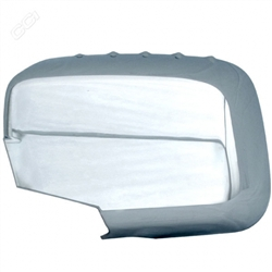 Honda Ridgeline Chrome Mirror Covers, 2006, 2007, 2008, 2009, 2010, 2011, 2012, 2013, 2014
