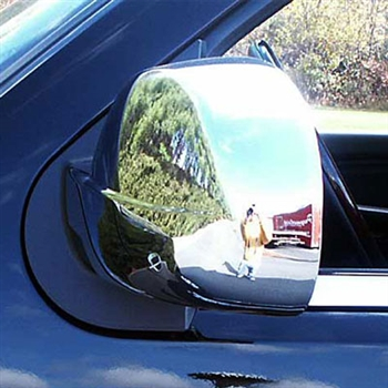 GMC Sierra Chrome Mirror Covers (Full), 2pc  2007 - 2013