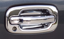 1999 - 2006 Chevrolet Silverado Chrome Door Handle Covers