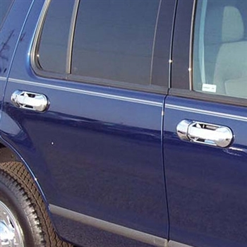 2002-2008 Ford Explorer Chrome Door Handle Covers