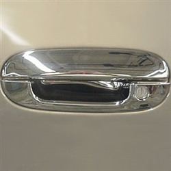 Cadillac Deville / DTS / DHS Chrome Door Handle Covers, 2000, 2001, 2002, 2003, 2004, 2005, 2006, 2007, 2008, 2009, 2010, 2011