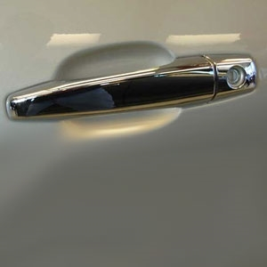 Cadillac CTS Sport Wagon Chrome Door Handle Covers, 2010, 2011, 2012, 2013, 2014