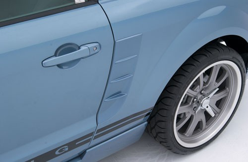 Ford Mustang Side Quarter Panel Pony Vents