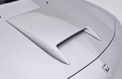 Dodge Charger Unpainted Hood Scoop, 2006, 2007, 2008, 2009, 2010