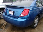Saturn Ion Sedan Factory Match Painted Rear Spoiler / Wing (flat style), 2003, 2004, 2005, 2006, 2007