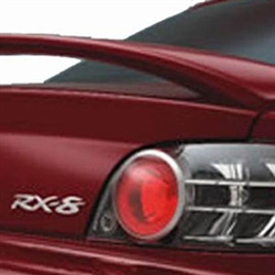 Mazda RX-8 '2 Post' Painted Rear Spoiler, 2004, 2005, 2006, 2007, 2008, 2009, 2010, 2011