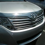 Toyota Venza Chrome Hood Shield, 2010, 2011, 2012, 2013, 2014, 2015