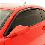 Ford Mustang Ventvisor Rain Guards, 2015, 2016, 2017