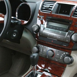 Jeep Liberty Wood Dash Kit