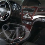 Acura ILX Wood Dash Kit