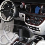 Chrysler Pacifica Wood Dash Kit