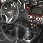 Honda Fit Wood Dash Kit