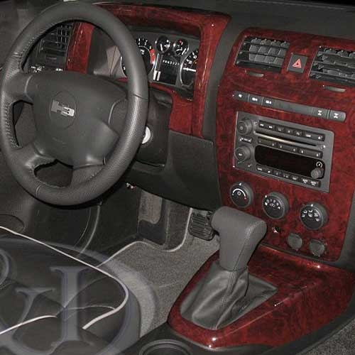 Hummer h3 wood dash kits for Hummer h3 interior accessories