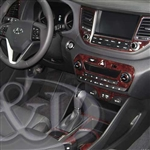 Hyundai Tucson Wood Dash Kit