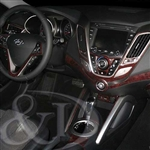 Hyundai Veloster Wood Dash Kit