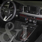 Kia Rio Wood Dash Kit