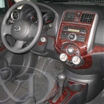 Nissan Versa Wood Grain Dash Kits