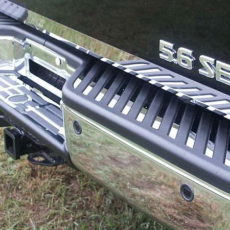 Nissan Titan Chrome Rear Bumper Amp Step Trim 29pc Set