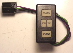 Asc 750 840 925 Aftermarket Sunroof Open Close Switch