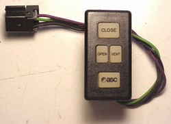 750/840/925 Aftermarket Sunroof Open/Close Switch by ASC Inalfa