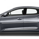Hyundai Azera Chrome Body Side Moldings, 2012, 2013, 2014, 2015