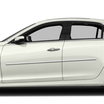 Cadillac CTS Chrome Body Side Moldings, 2014, 2015, 2016, 2017