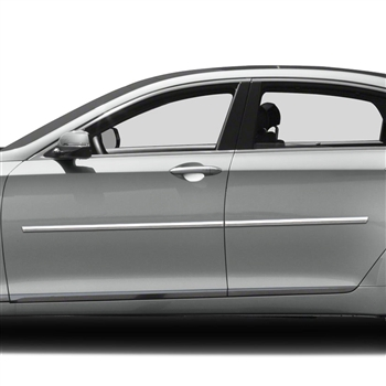 Hyundai Genesis Sedan Chrome Body Side Moldings, 2015, 2016