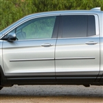 Honda Ridgeline Chrome Body Side Moldings, 2017, 2018