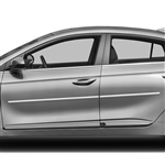 Hyundai Ioniq Chrome Body Side Moldings, 2017, 2018