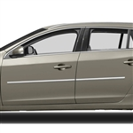 Volvo V60 Chrome Body Side Moldings, 2010, 2011, 2012, 2013, 2014, 2015, 2016