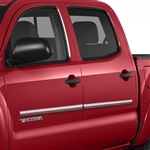 Toyota Tacoma Chrome Body Side Moldings, 2005, 2006, 2007, 2008, 2009, 2010, 2011, 2012, 2013, 2014, 2015, 2016, 2017