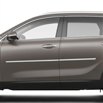 Kia Sorento Chrome Body Side Moldings, 2016, 2017
