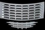 Chrysler PT Cruiser Chrome Grille Overlay, 2pc  2001 - 2005