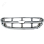 Ford Explorer Chrome Grille Overlay, 1998, 1999, 2000, 2001