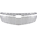 Chevrolet Cruze Chrome Grille Overlay, 2011, 2012, 2013, 2014