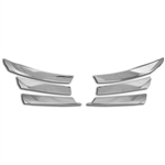 Nissan Altima Chrome Grille Overlay, 2013, 2014, 2015
