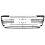 GMC Canyon Chrome Grille Overlay, 2004, 2005, 2006, 2007, 2008, 2009, 2010, 2011, 2012