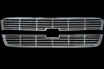 Chevrolet Silverado 1500 Chrome Grille Overlay, 2pc  2003 - 2005